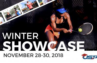 USP College Tennis Winter Showcase 2018